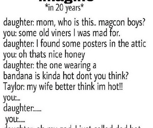 magcon, imagine, and taylor image
