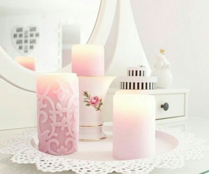 kerzen ikea weiß rosa image