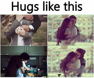hug, Relationship, and love image