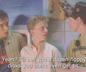 80s, Anthony Michael Hall, and john cusack image