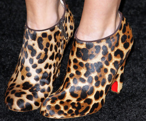 ashley tisdale, leopard, and shoes image