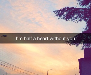 the day, half a heart, and lyricks image