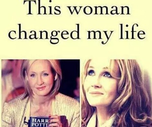 harry potter and j.k.rowling image