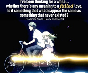 honey and clover, quotes, and takemoto yuuta image