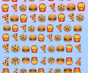 cookie, hambuger, and fries image