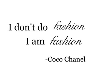 quote, coco chanel, and fashion image