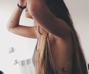 girl, ink, and inked image