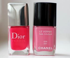 dior, chanel, and pink image