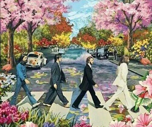 beatles, the beatles, and george harrison image