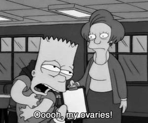 bart, funny, and ovaries image