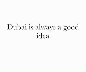 Dubai and quote image