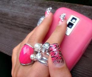 nails, bitch, and bling image