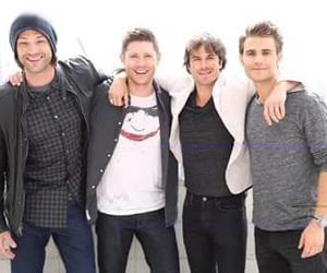supernatural, ian somerhalder, and Jensen Ackles image