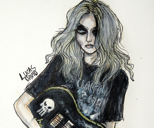 Taylor Momsen, the pretty reckless, and art image