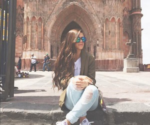 fashion, girl, and glases image