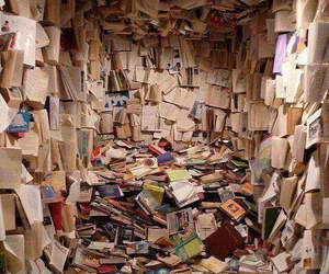 books, paradise, and cool image