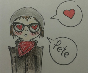 fall out boy, my chemical romance, and pete wentz image