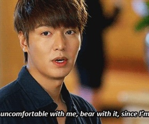 the heirs, lee minho, and quotes image