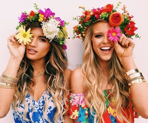 happiness, summer, and bff image