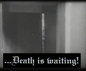 death, text, and wait image
