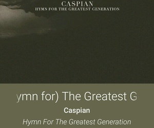 caspian, music, and post rock image