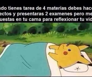 frases, meme, and pikachu image