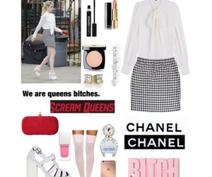 bitch, chanel, and emma roberts image