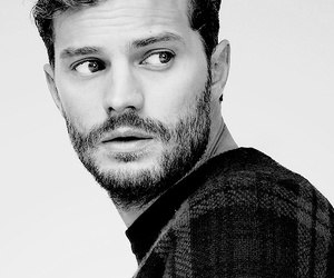 Jamie Dornan, christian grey, and man image