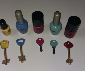 colours, diy, and keys image
