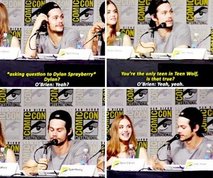 comic con, teen wolf, and funny image