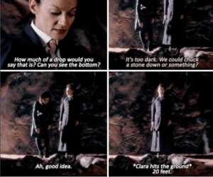 clara, doctor who, and missy image