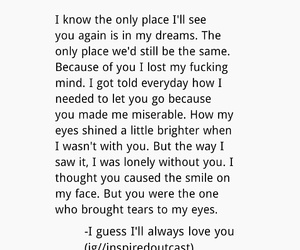 lonely, poem, and sad image