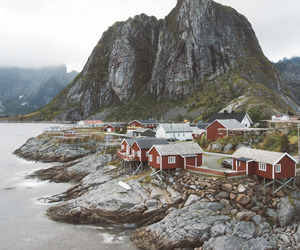 nature, house, and norway image