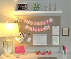 decoracao, home office, and escrivaninha image