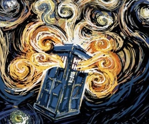 doctor who, dw, and tardis image