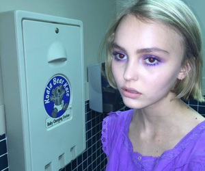 lily rose depp and tumblr image