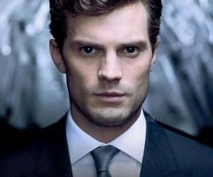 christian grey, Jamie Dornan, and fifty shades of grey image