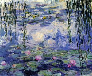 art, painting, and monet image