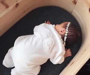 baby, cute, and sleeping image