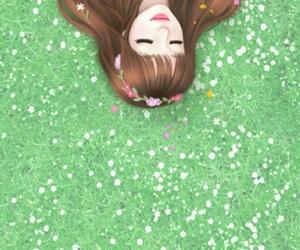 Enakei, girl, and mellow j image