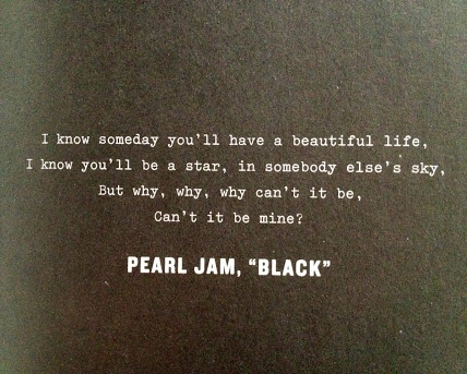 Pearl Jam,Black discovered by Deniz on We Heart It