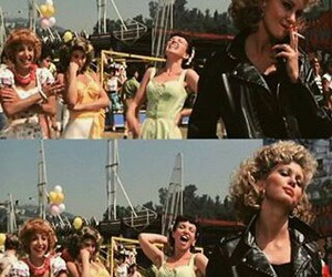 film, grease, and movie image