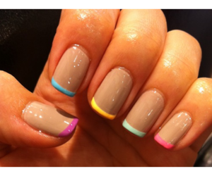 color, nails, and colour image