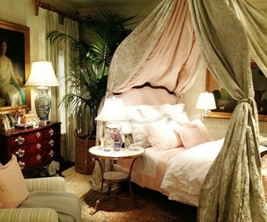 house, vintage, and bedroom image