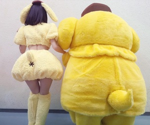 yellow, かわいい, and kawaii image