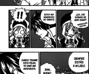 gruvia, fairy tail, and manga image