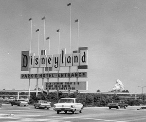 disneyland, disney, and vintage image