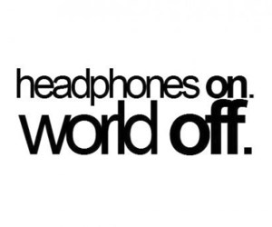 music, headphones, and world image