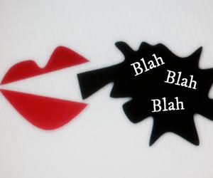 art, black, and blah blah blah image