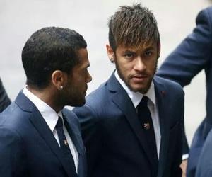suits, neymar jr, and dani alves image